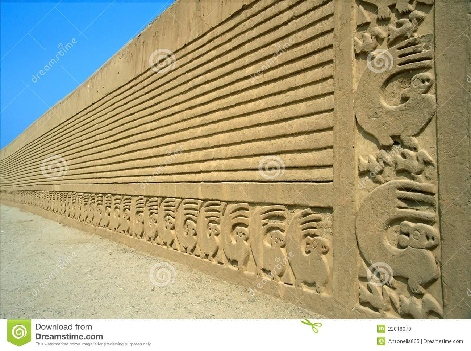 Mure a cinzeladura, Chan Chan, ¹ de PerÃ