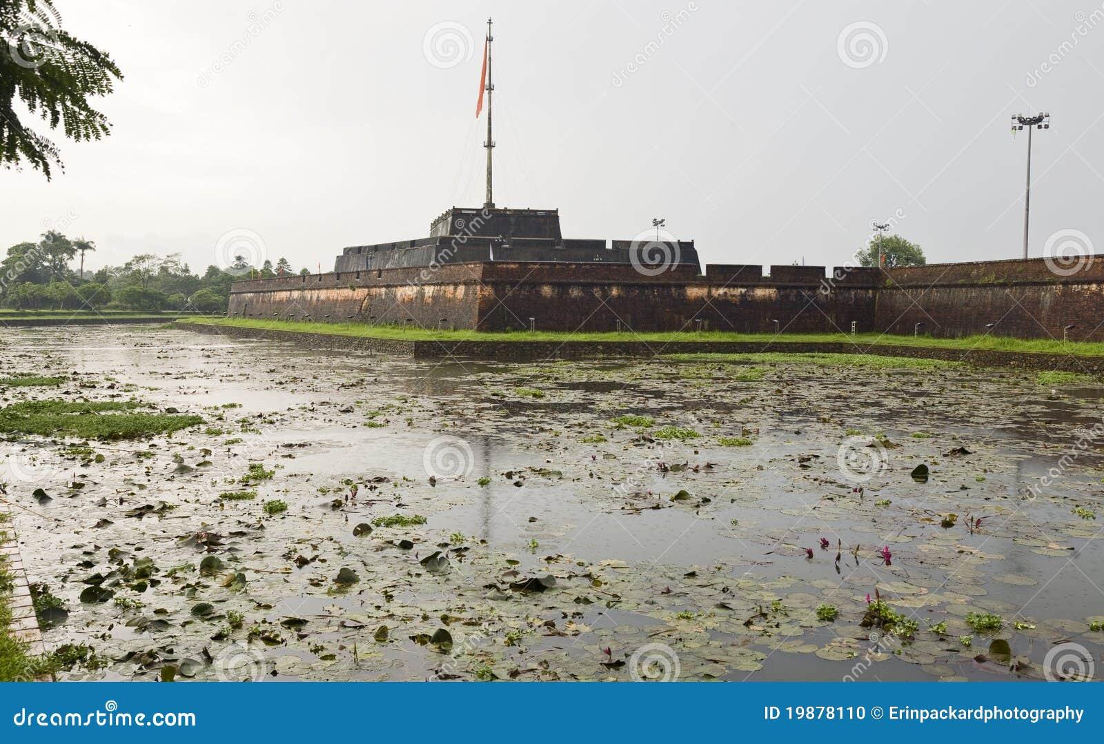 Muren van de Citadel in Tint