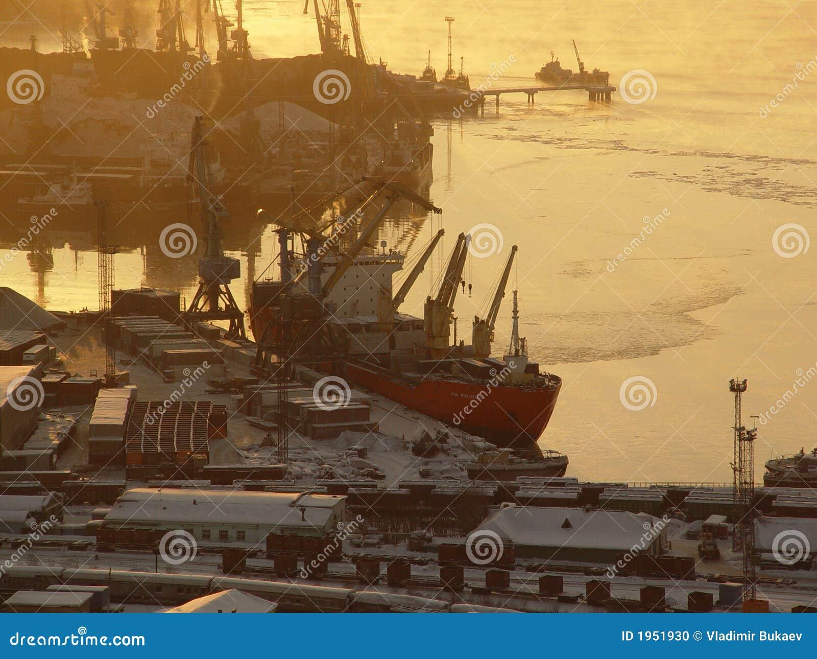Murmansk seaport