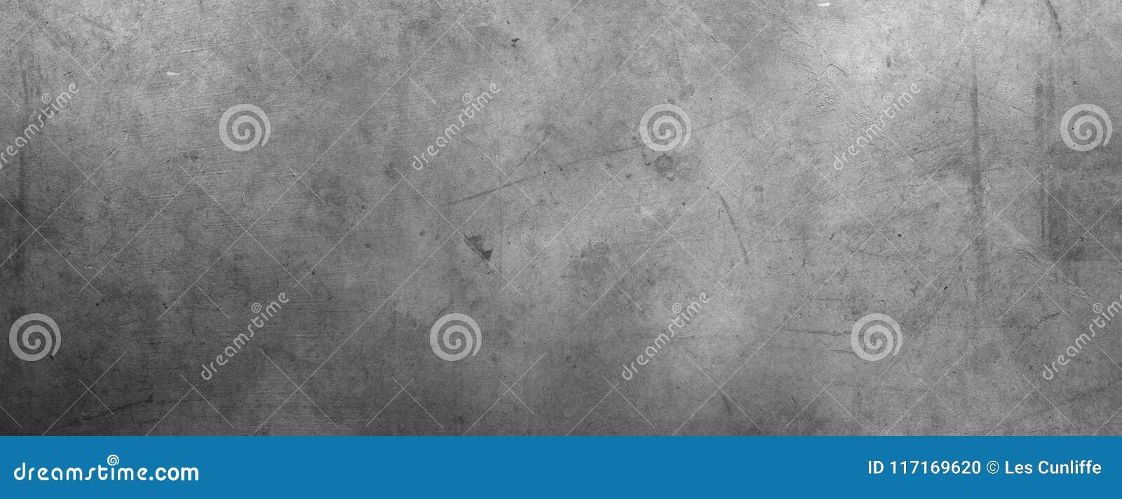 Muro de cimento cinzento