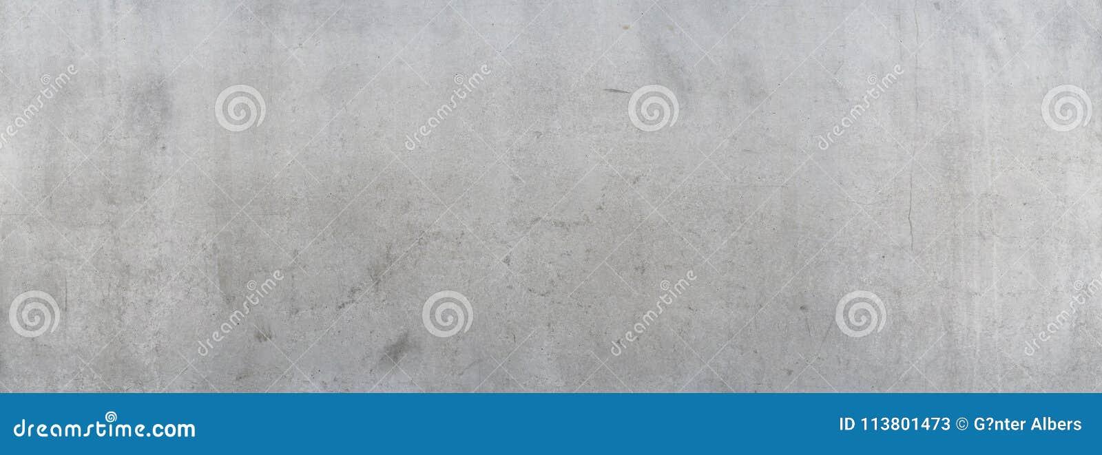 Muro de cimento cinzento sujo