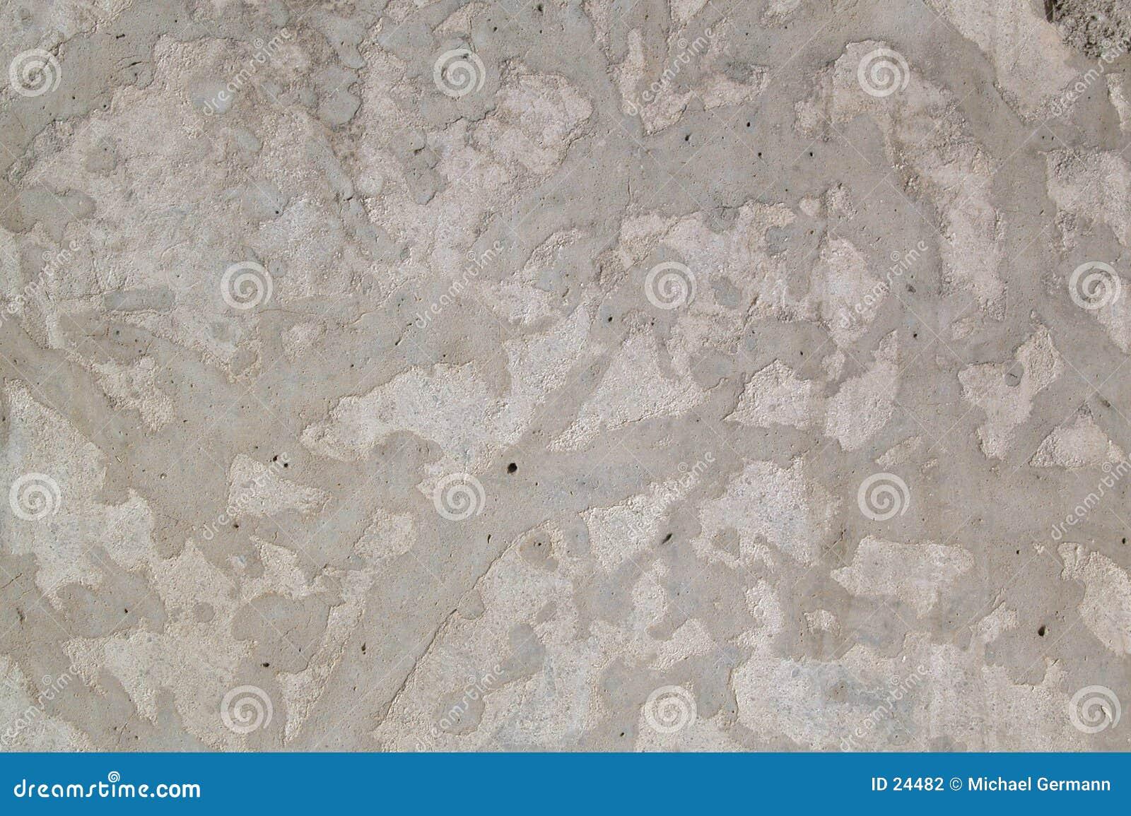Muro de cimento decorativo