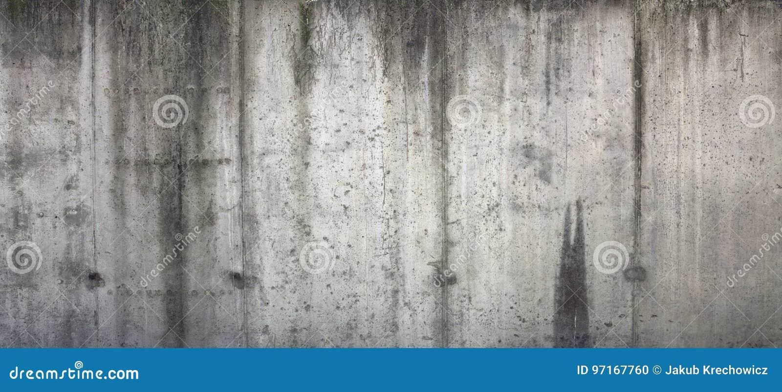 Muro de cimento velho