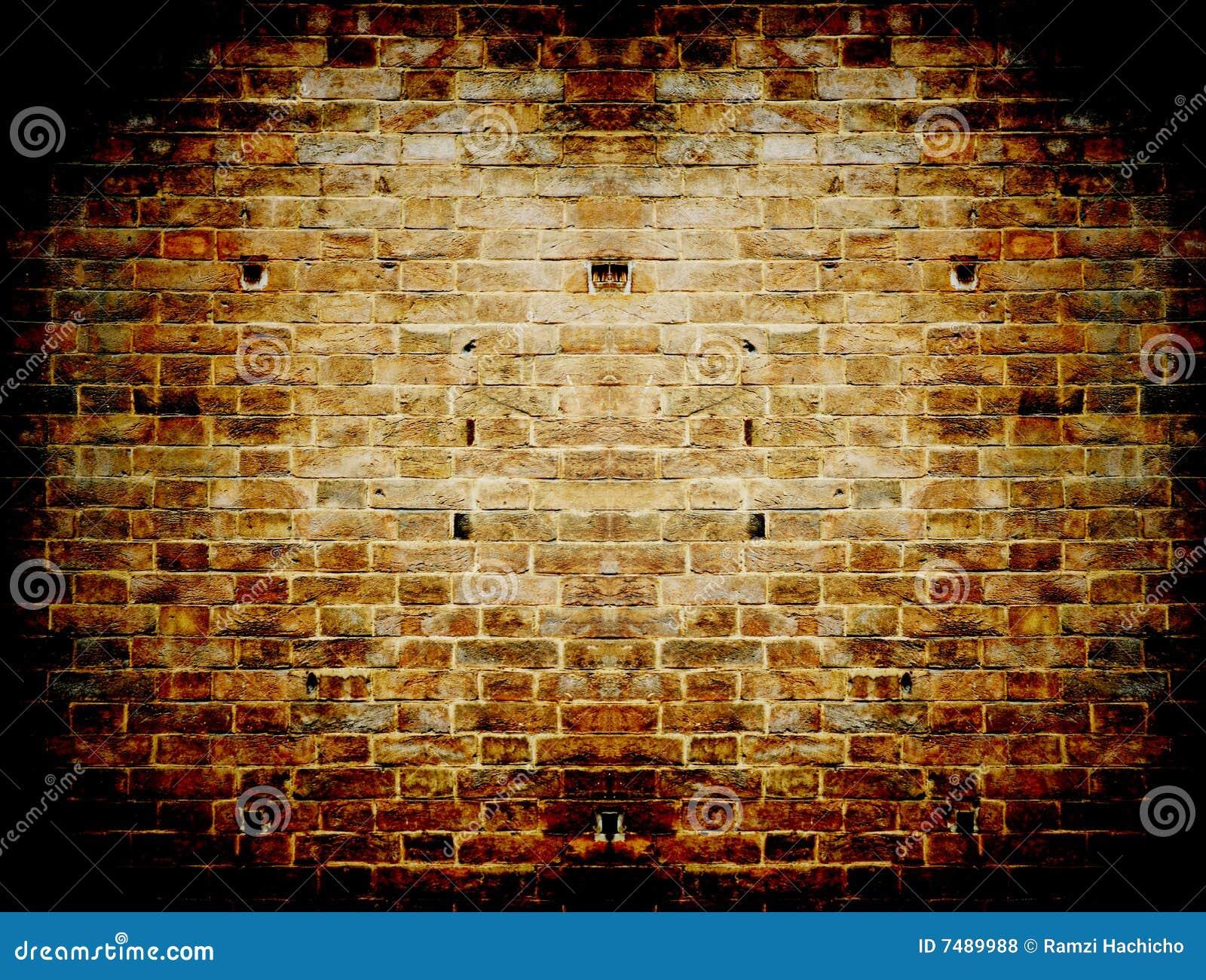 Muro di cemento rosso scuro di grunge in un imbroglione for Costo del mattone da costruire
