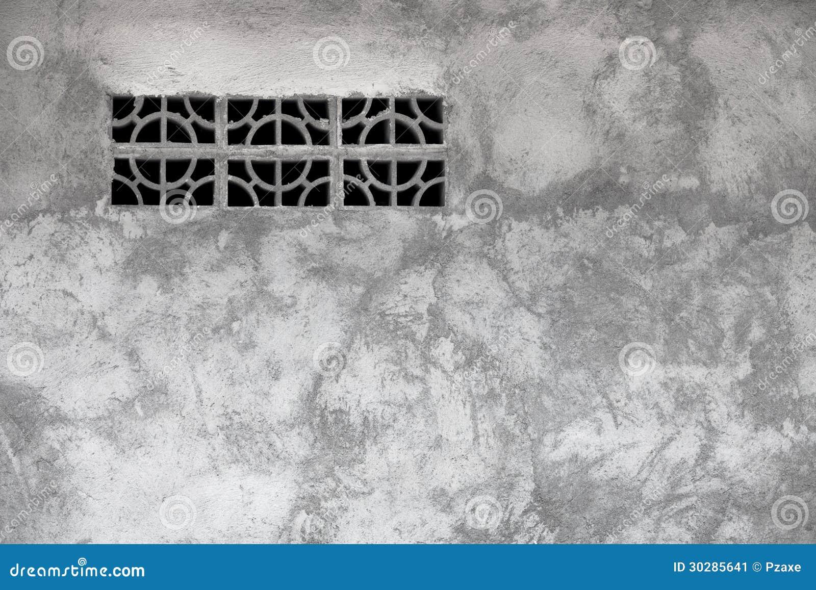 Grata concreta dello scolo dell'elemento di ventilazione ...