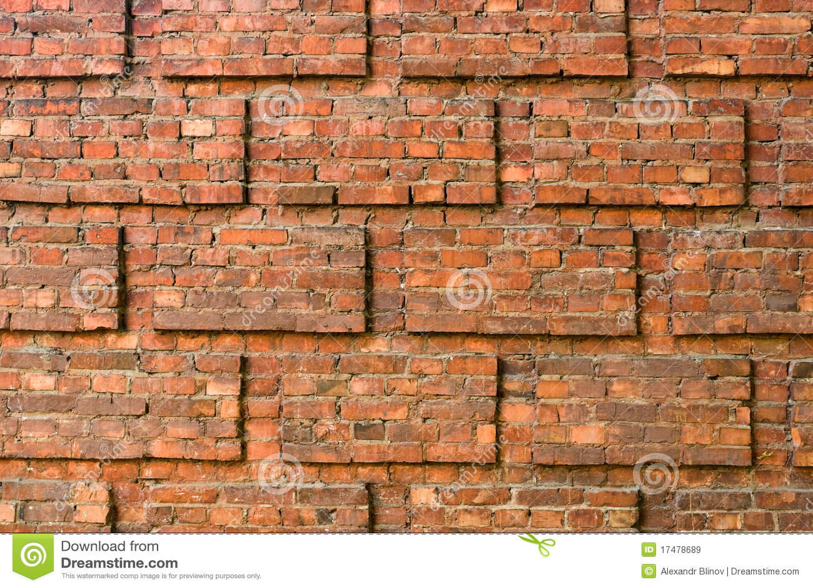Muro di mattoni immagine stock immagine di esterno for Esterno di mattoni artistici