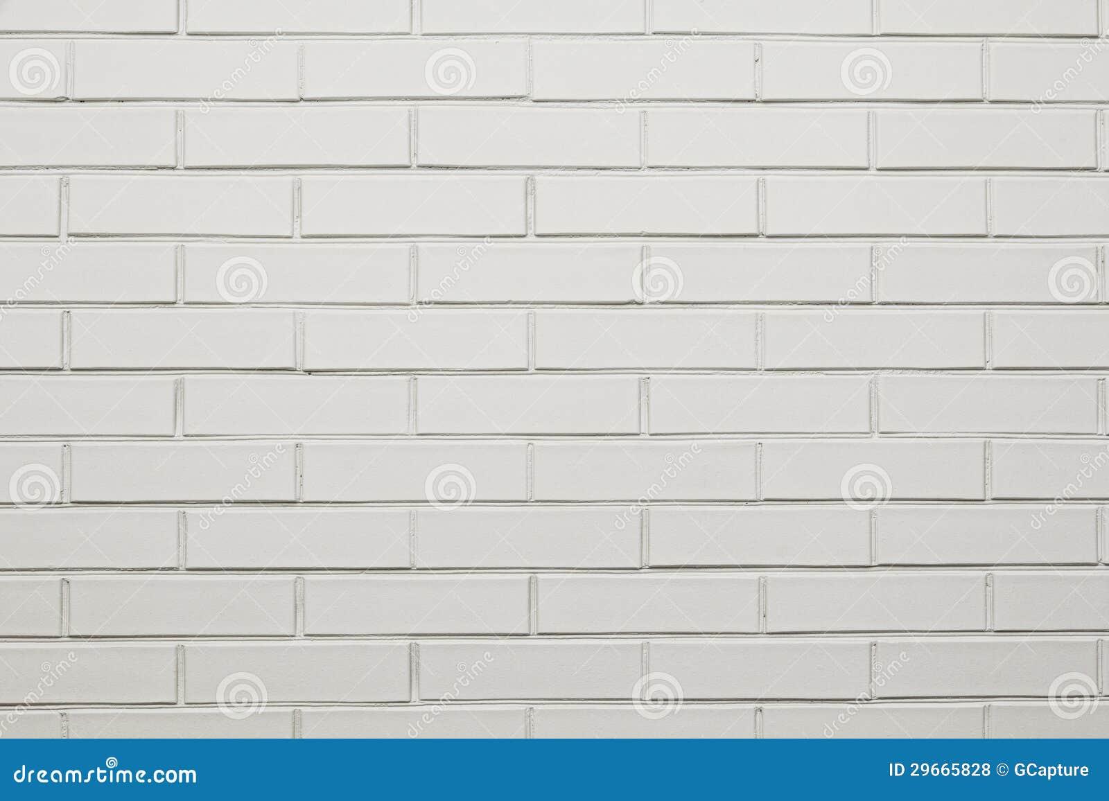 Muro Di Mattoni Bianco Fotografie Stock Libere da Diritti - Immagine: 29665828