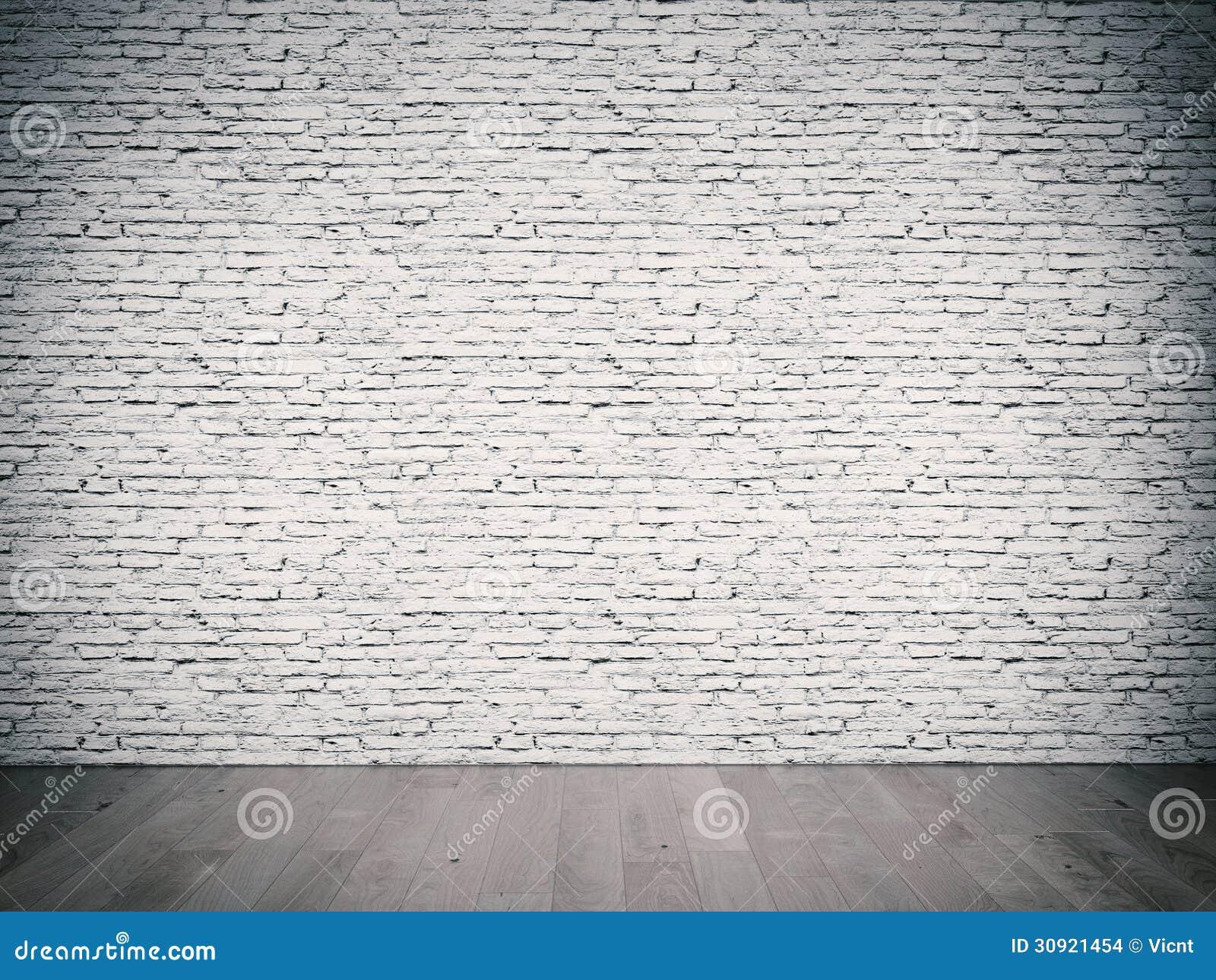 Muro di mattoni bianco fotografia stock immagine di blocco 30921454 - Pared de ladrillo blanco ...