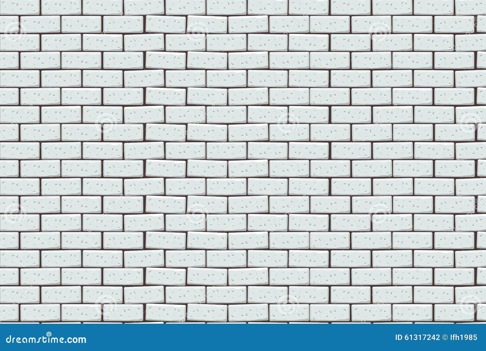 Muro di mattoni bianco fotografia stock. Immagine di vecchio - 61317242