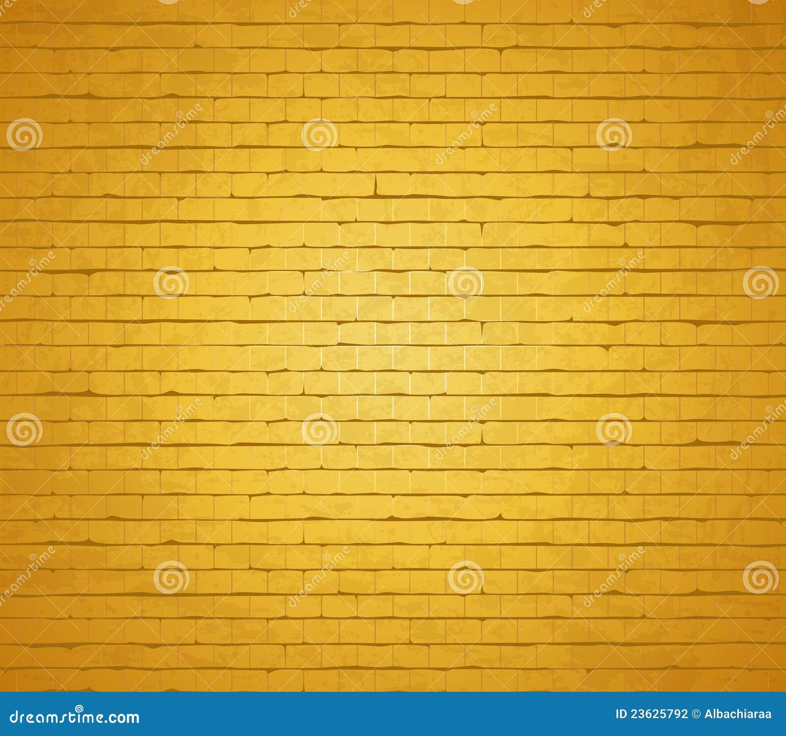 Muro di mattoni dell oro.