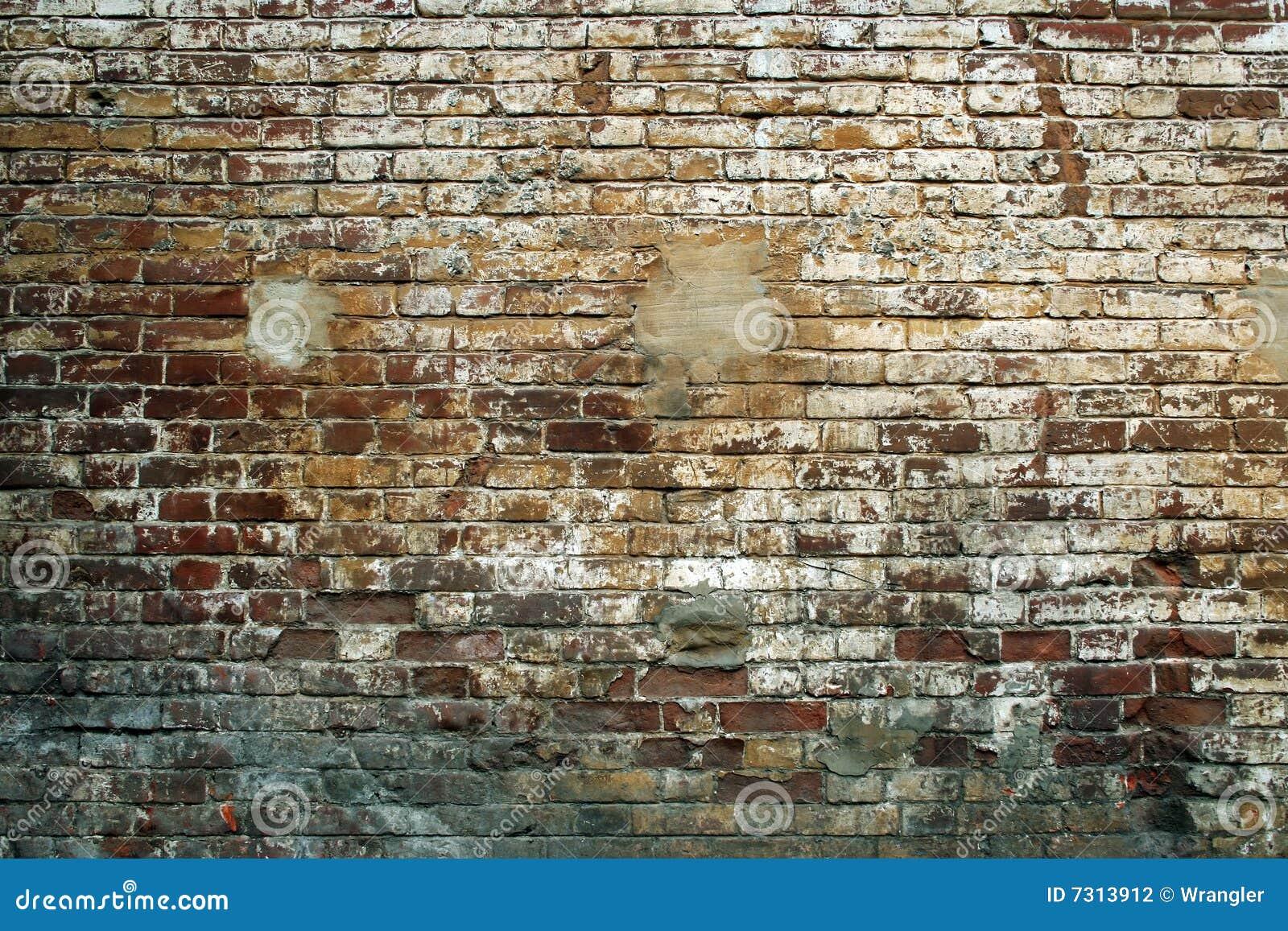 Muro di mattoni di Grunge.