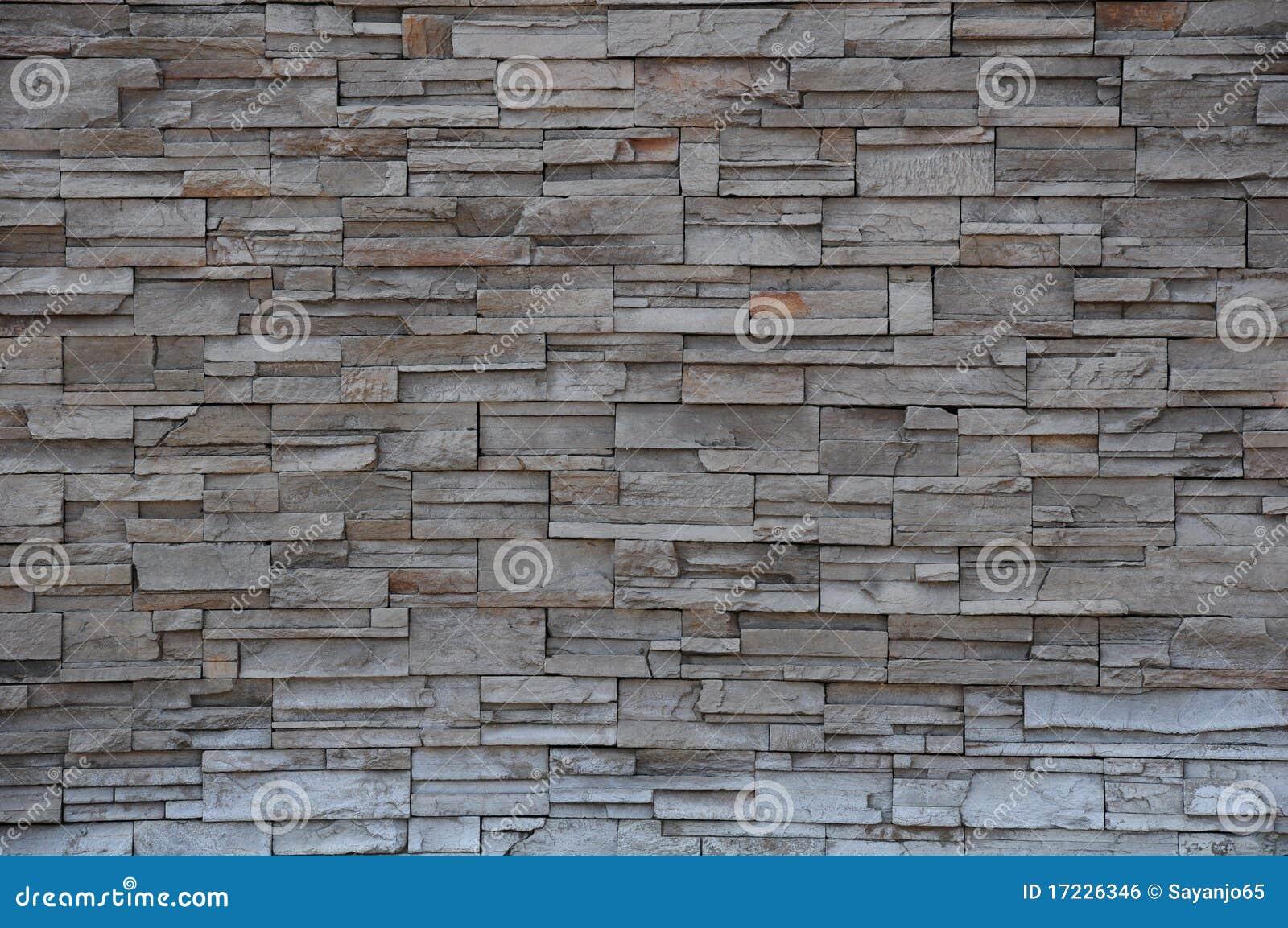 Muro di mattoni di pietra parete di pietra del mattone - Parete di pietra ...