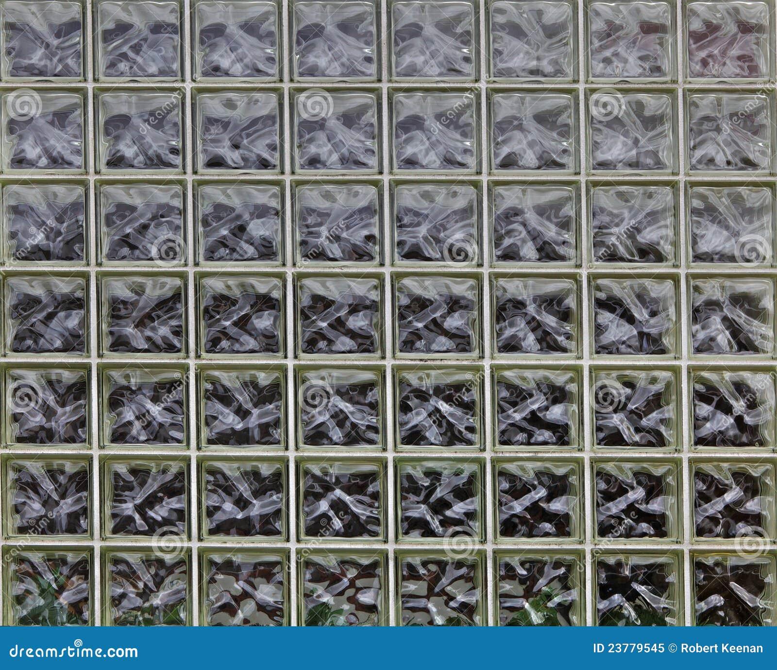 Eccezionale Muro di mattoni di vetro immagine stock. Immagine di figura - 23779545 KA16