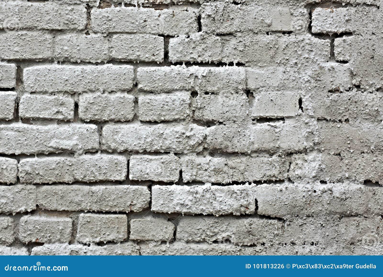 Muro di mattoni invecchiato