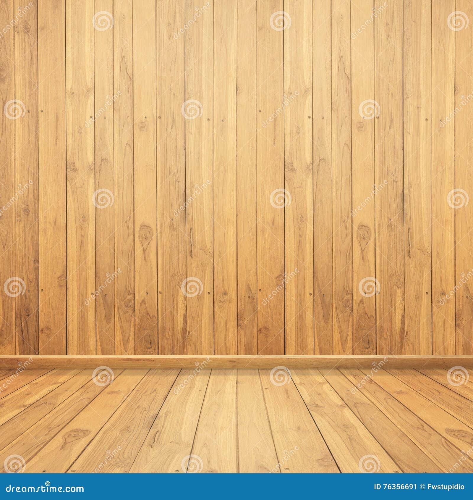 Muros de cemento y piso de madera para la arquitectura - Muro de madera ...
