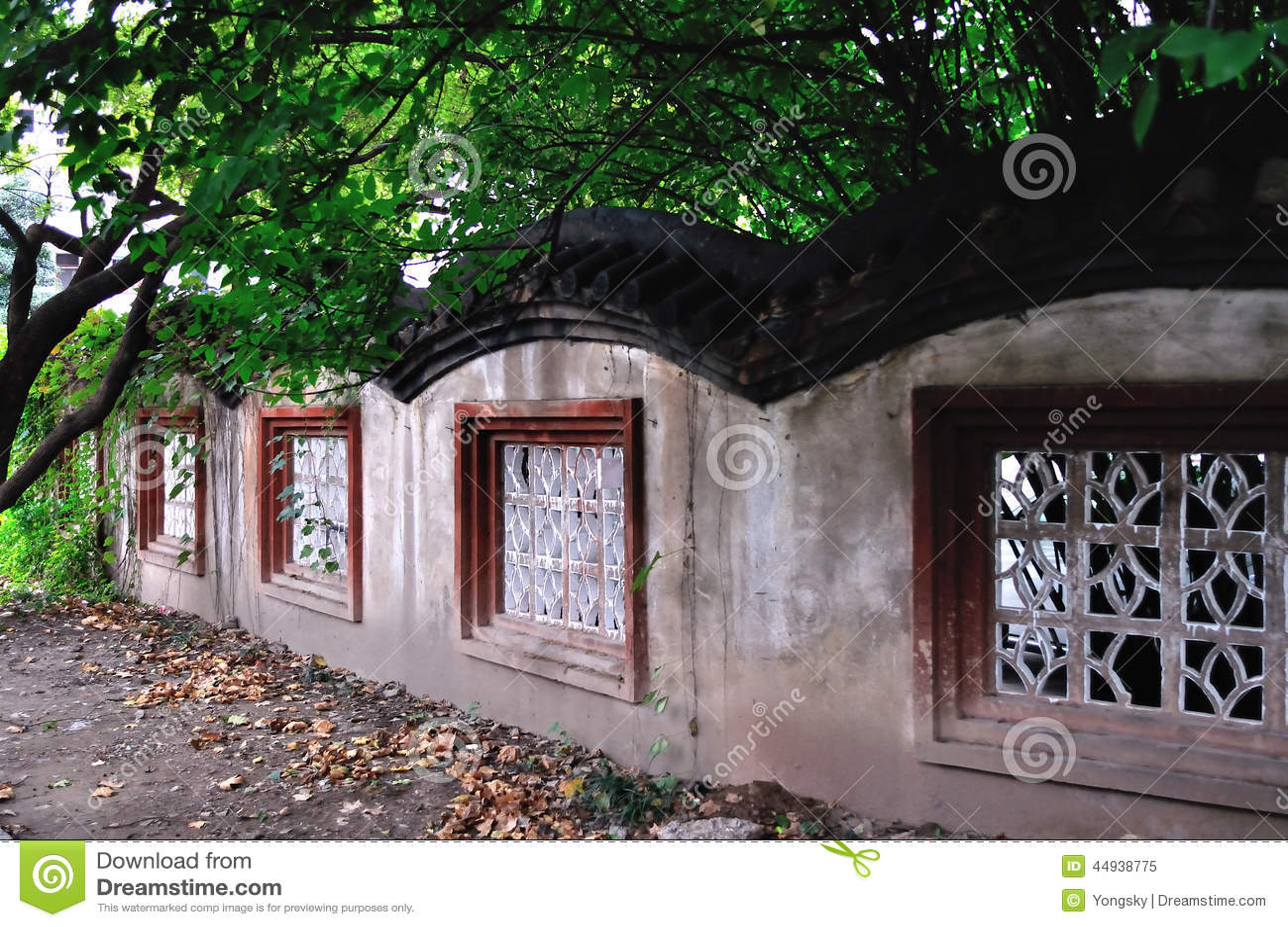 Murs chinois classiques
