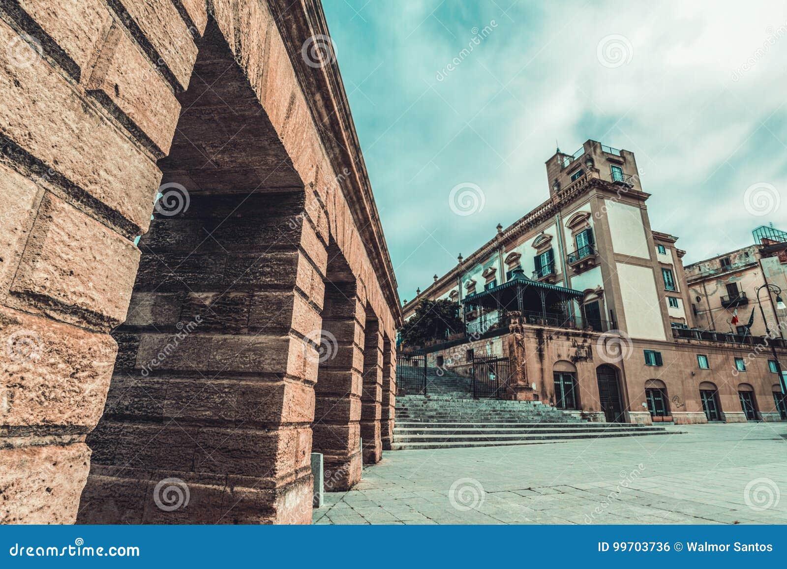 Murs de Palerme