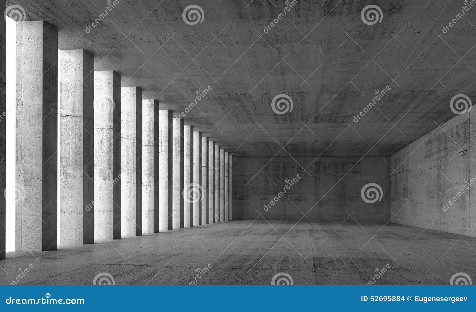 Murs et colonnes int rieurs et en b ton vides 3d for Le vide interieur