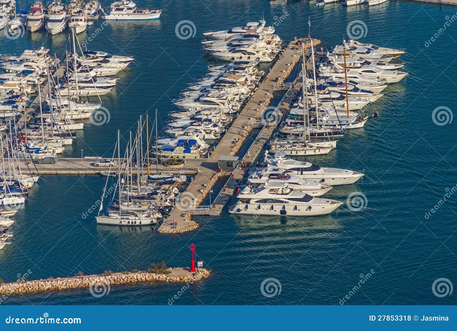 Murter marina antena