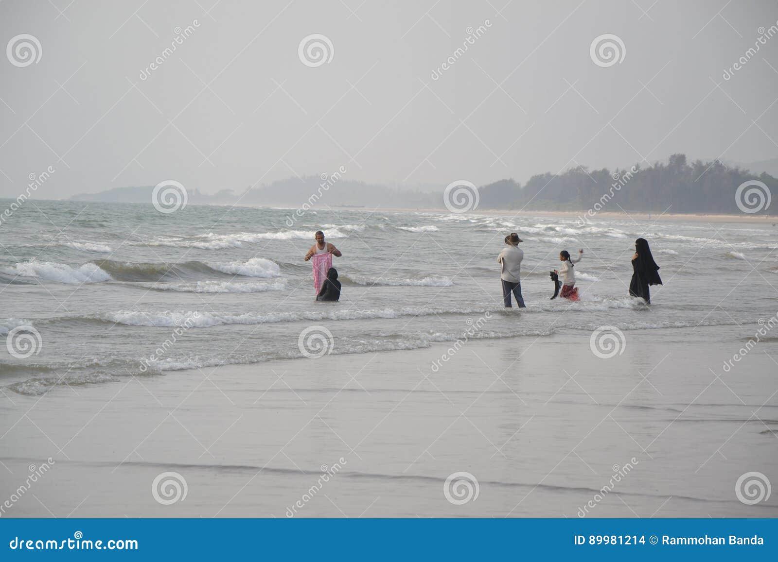 Murudeshwar海滩