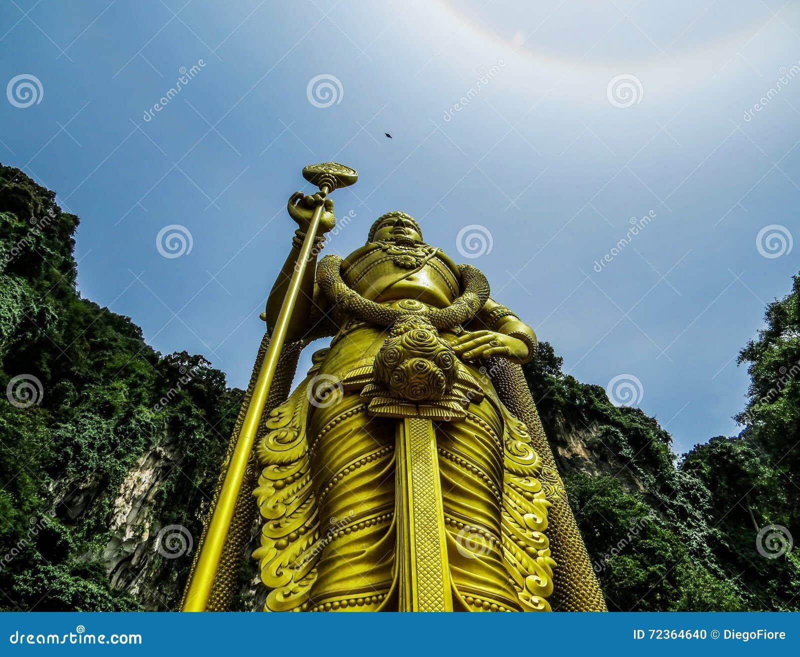 Murugan雕象,黑风洞,马来西亚