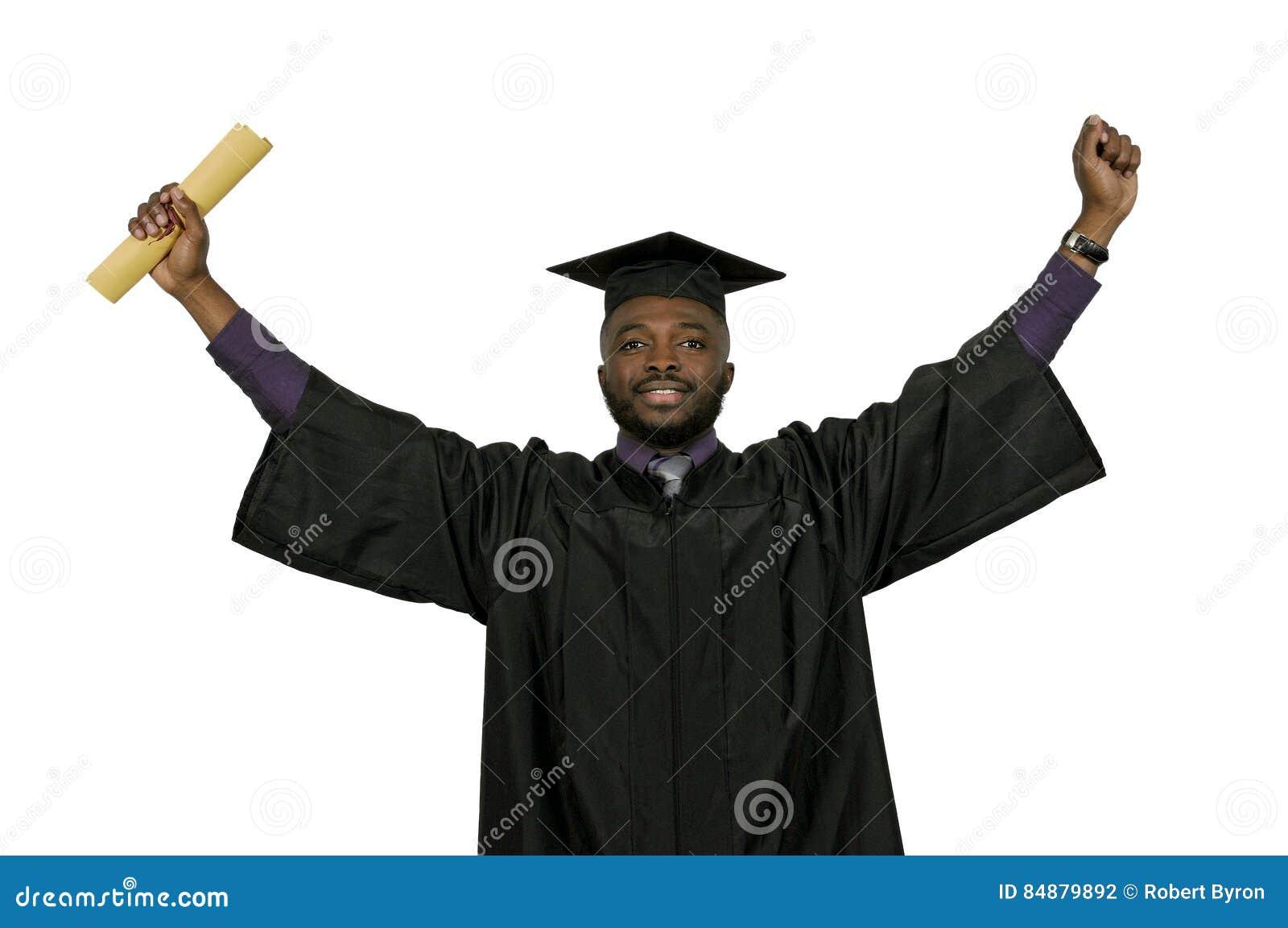 Murzyna absolwent