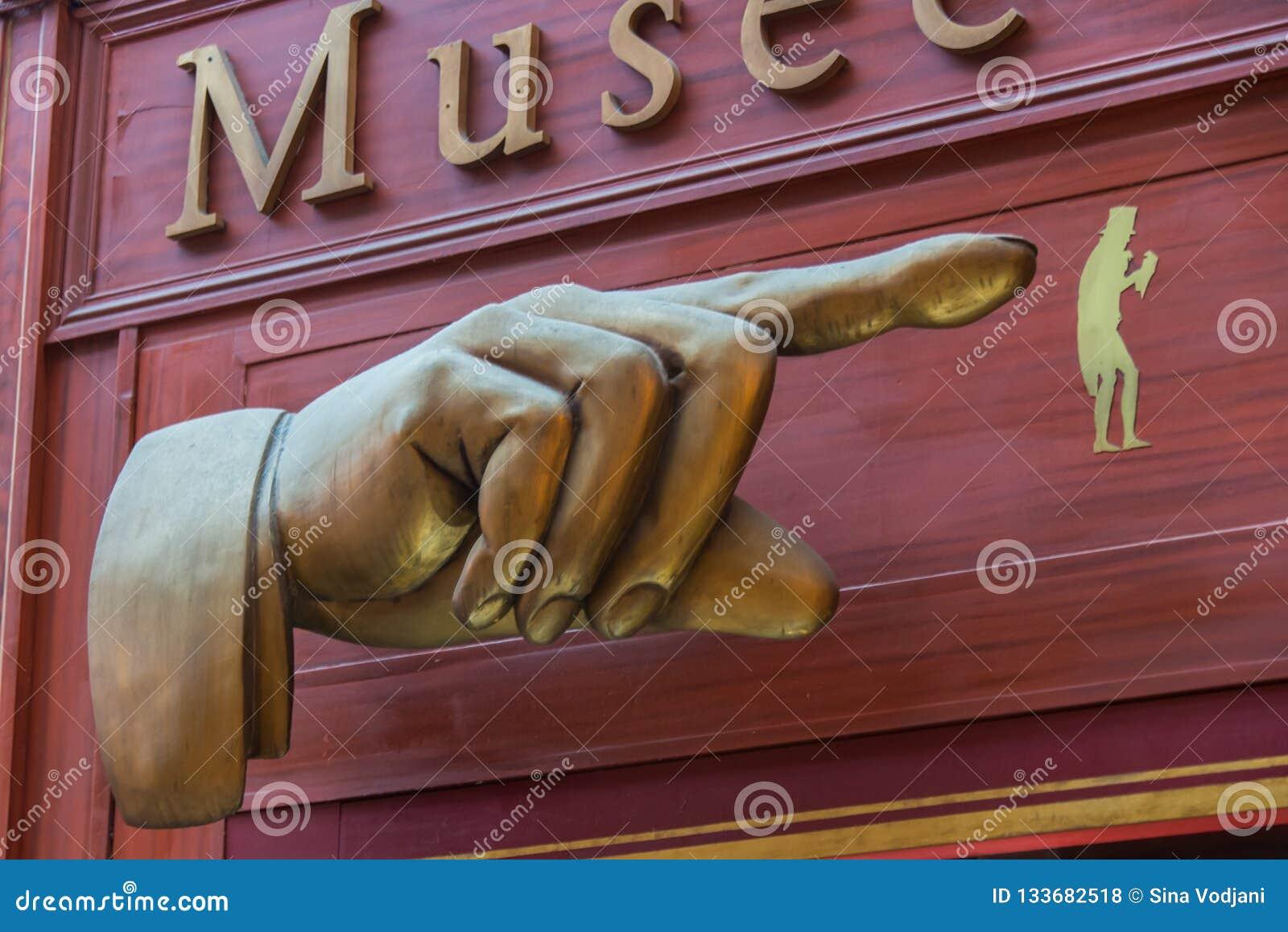 Musée Grévin sköldpassage i Paris