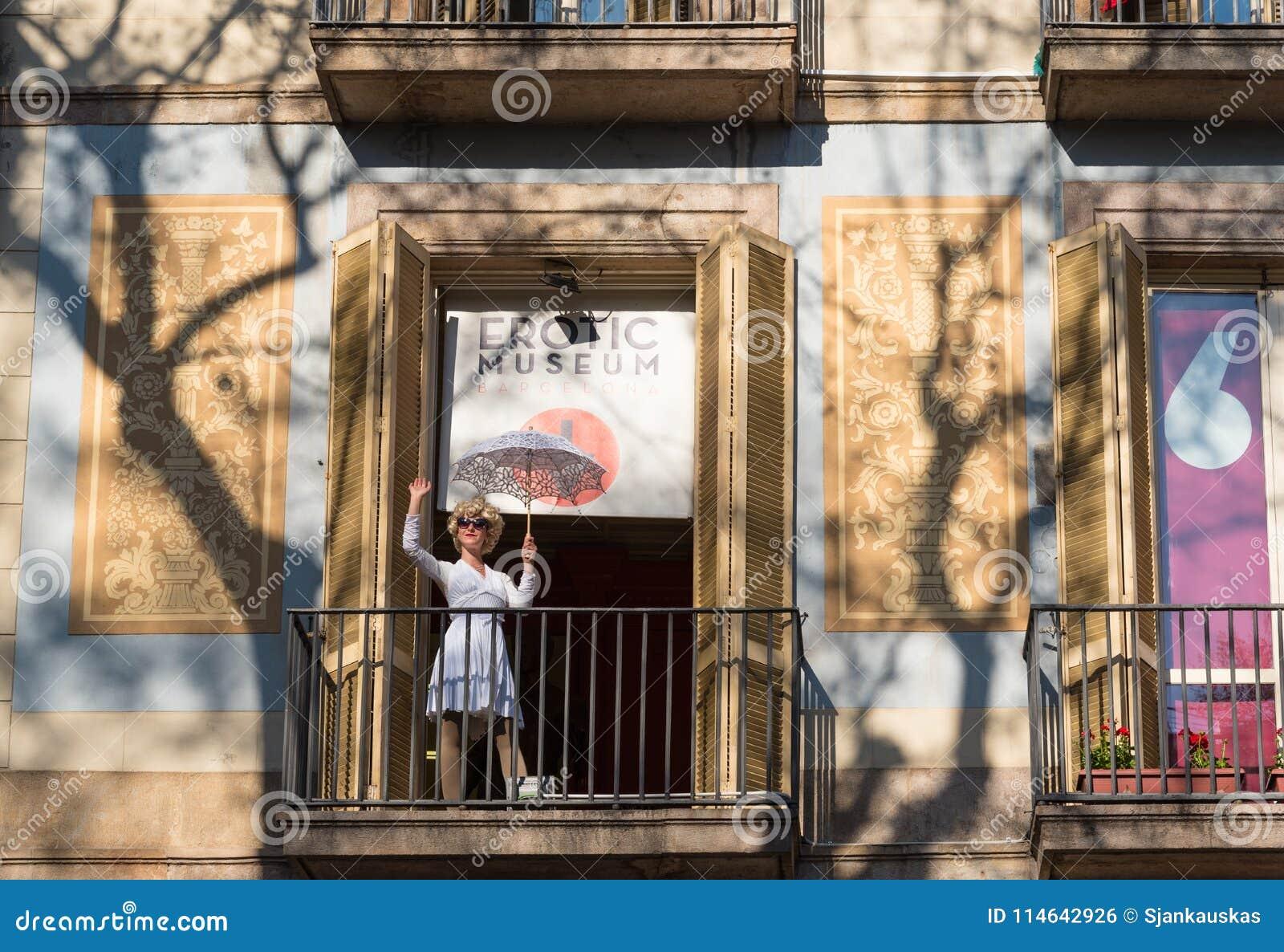 Musée érotique à Barcelone, Catalogne, Espagne
