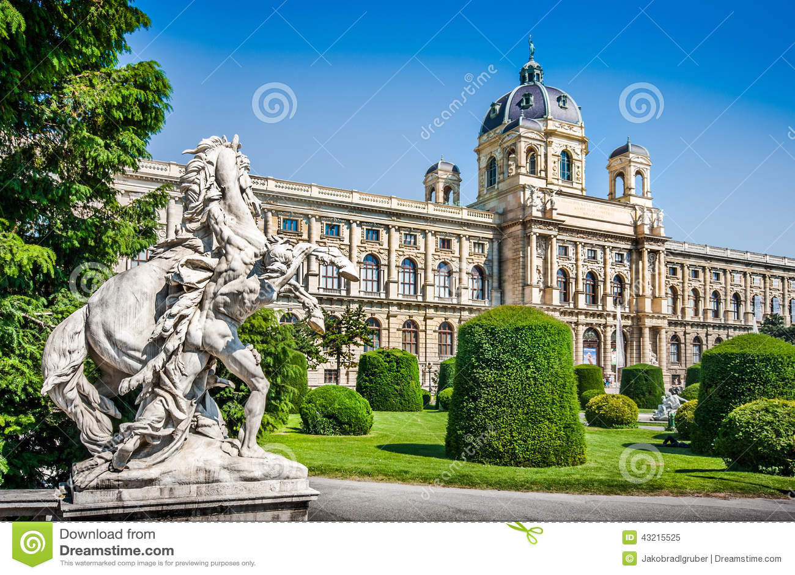 Musée célèbre d histoire naturelle à Vienne, Autriche