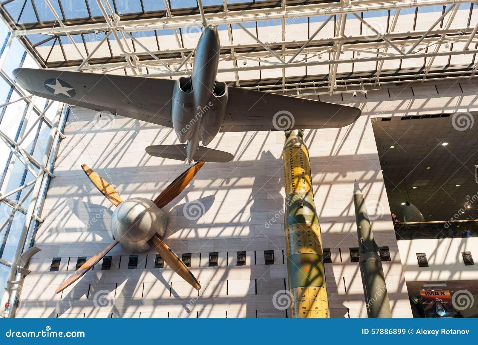 Musee D Air National Et D Espace Dans L Interieur De Washington Dc