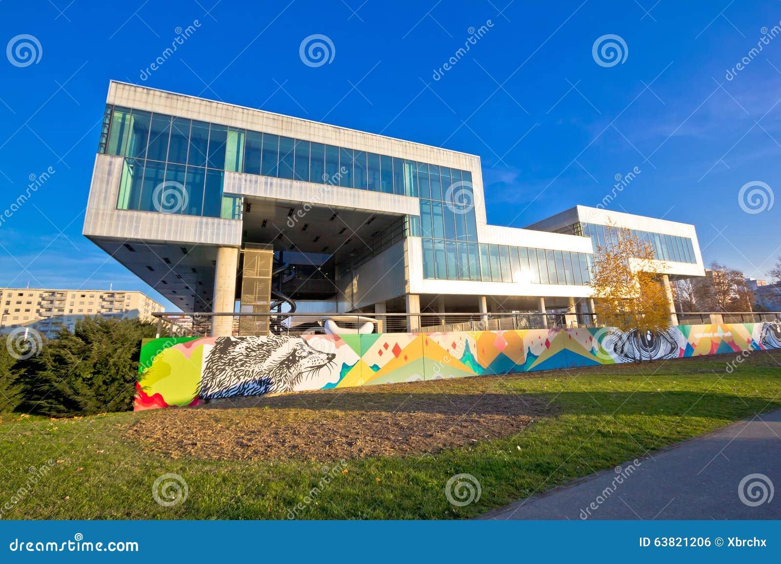 Musée d art contemporain à Zagreb