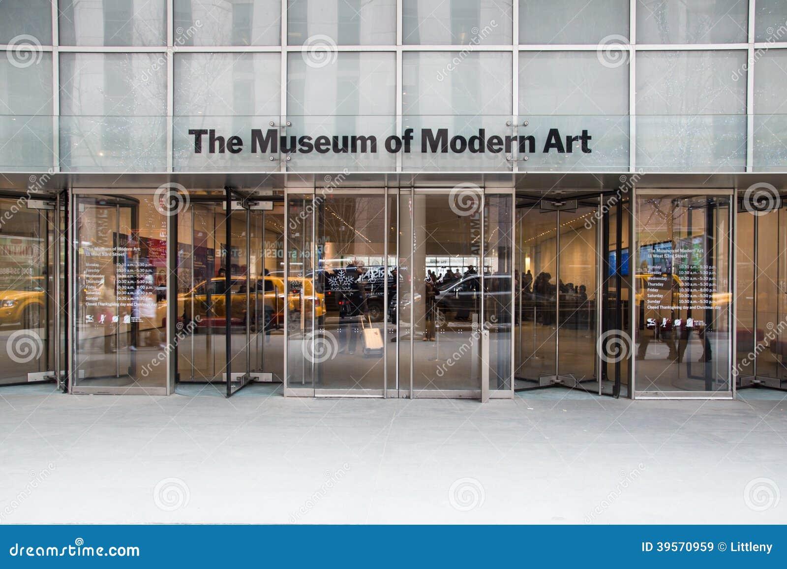 mus 233 e de l moderne nyc image stock 233 ditorial image du trottoir 39570959