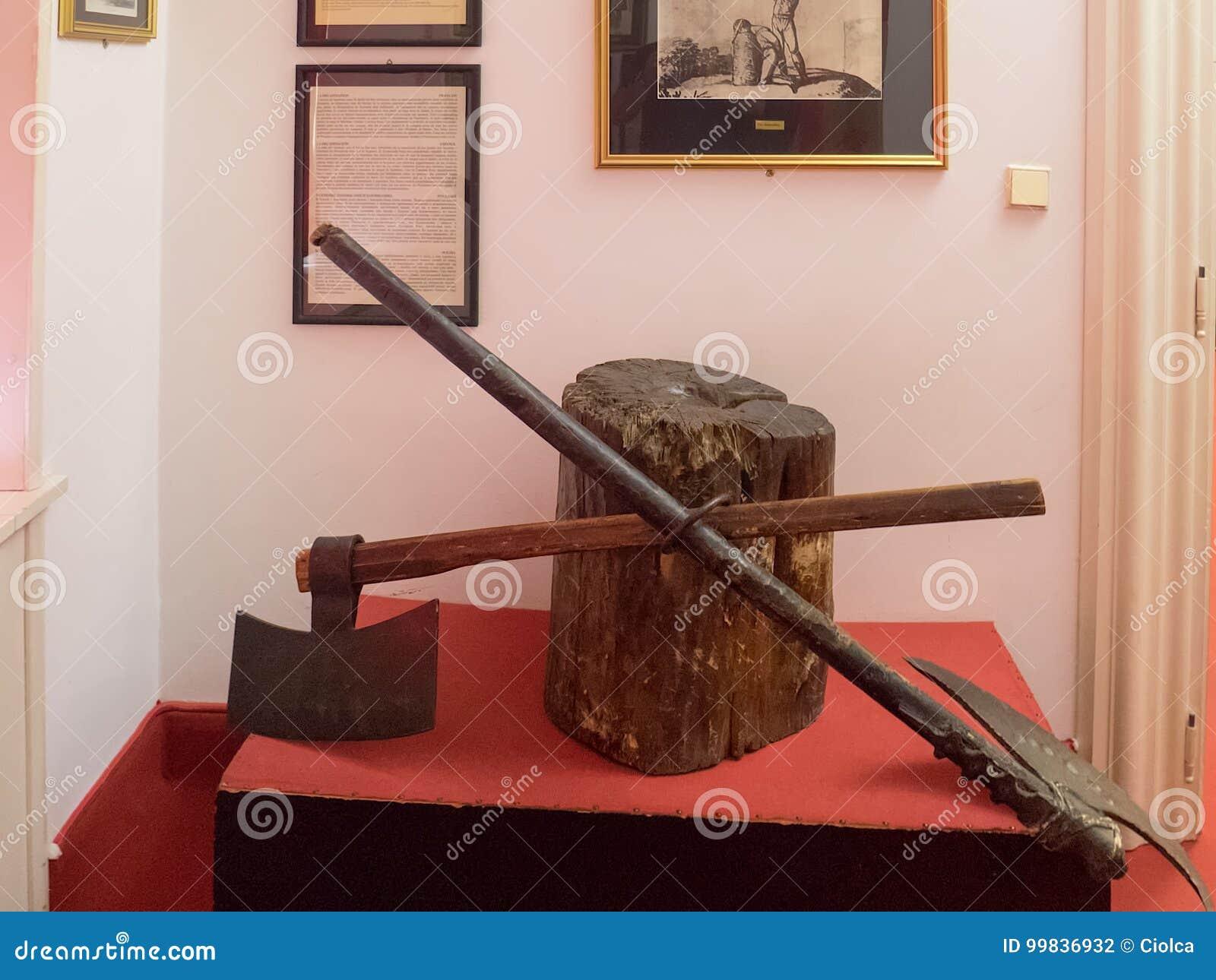 Musée de torture, Prague