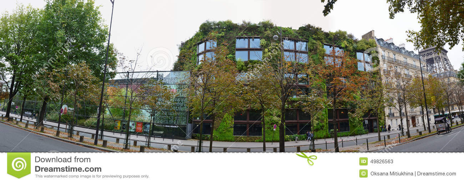 Musée Du Quai Branly à Paris Photo stock éditorial - Image du musée, paris:  49826563
