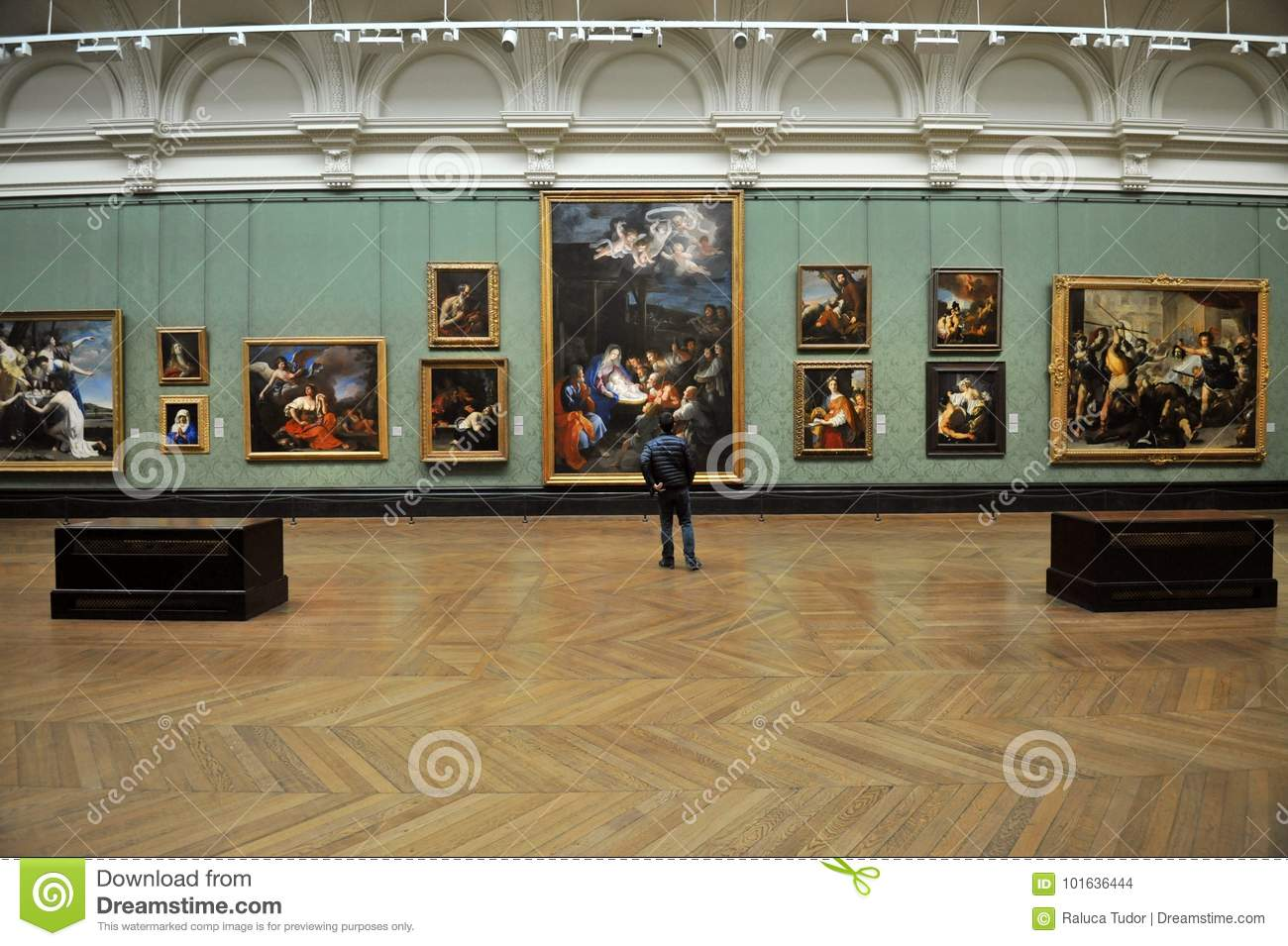 Musee Interieur De National Gallery A Londres Angleterre Image Stock Editorial Image Du Angleterre Londres 101636444