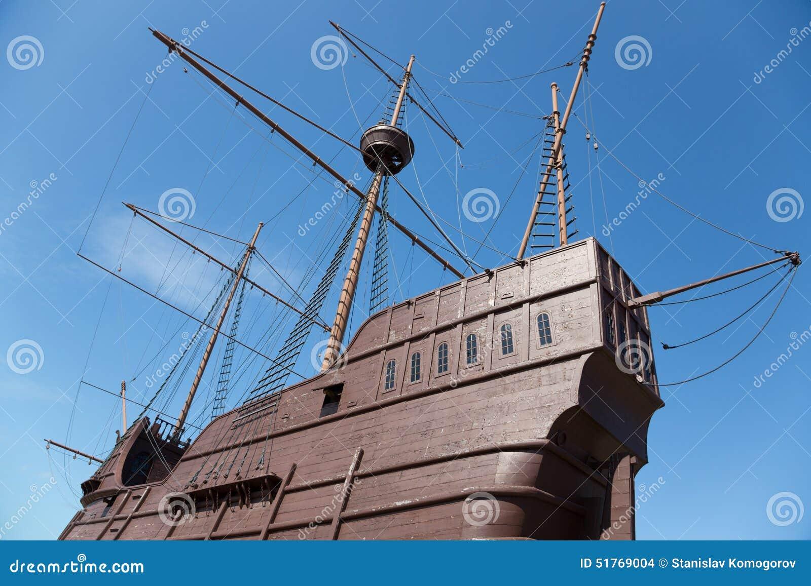 Musée maritime sous forme de bateau au Malacca
