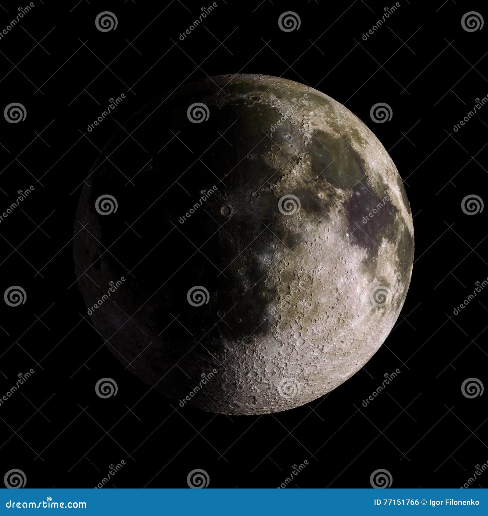 Musardez la planète de système solaire sur le rendu noir du fond 3d