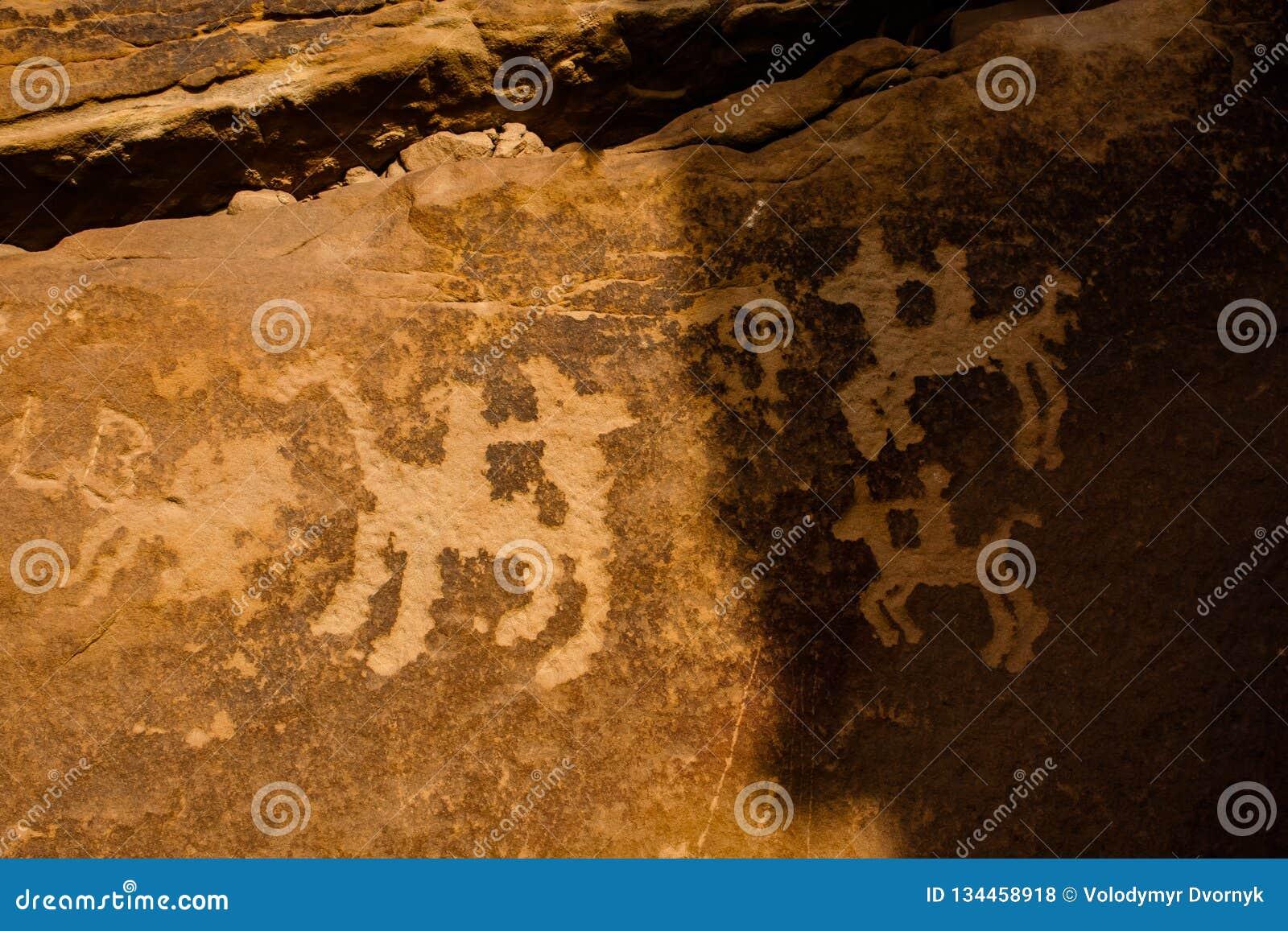 Musayqirah Petroglyphs, Riyadh Province, Saudi Arabia