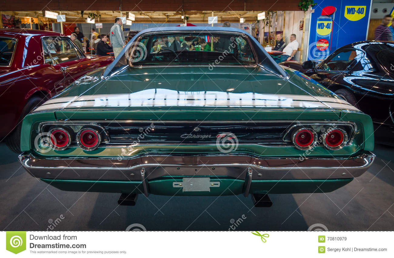 Muscle Car Dodge Charger R/T, 1968. Editorial Stock Image - Image ...