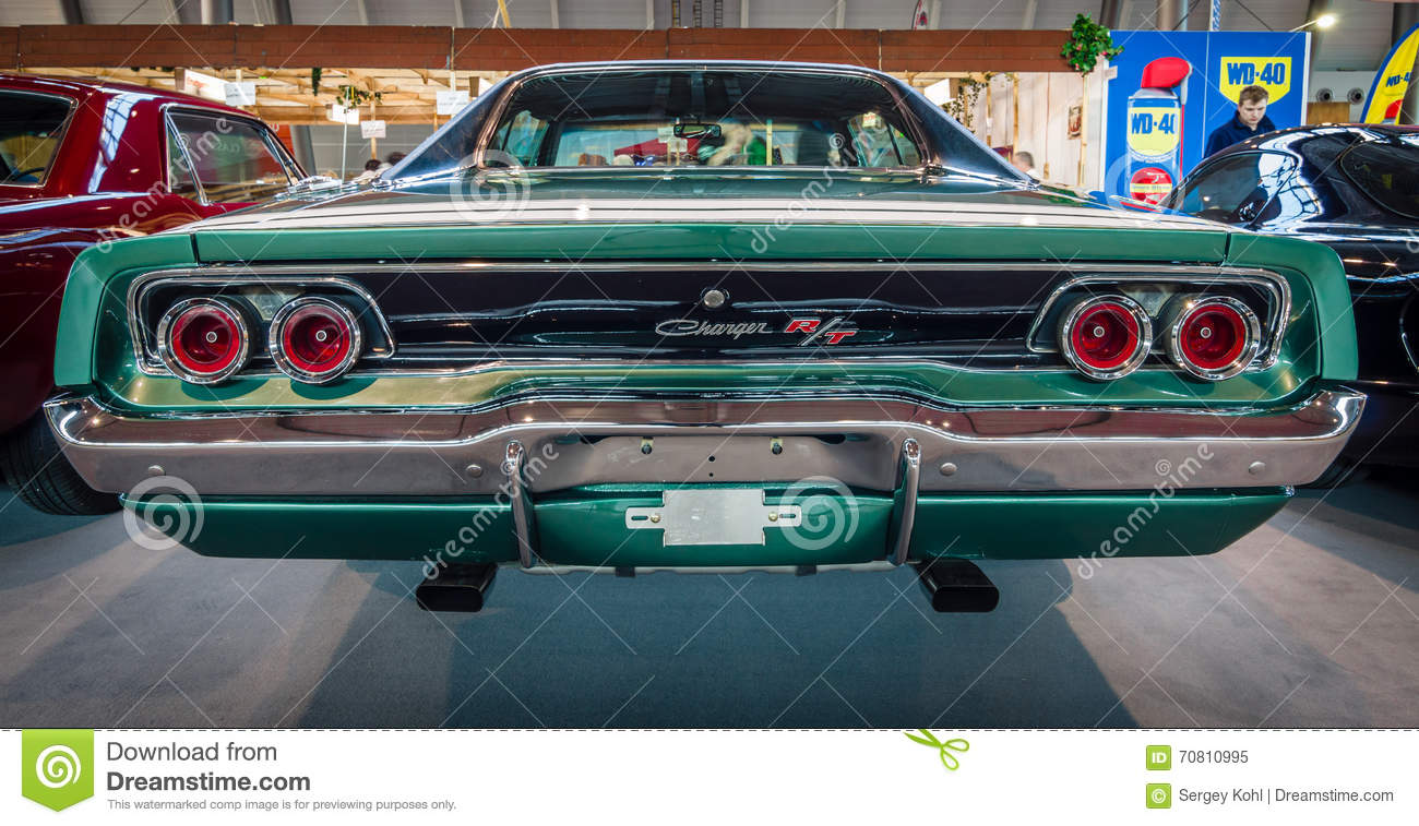 Muscle Car Dodge Charger R/T, 1968. Editorial Image - Image of ...