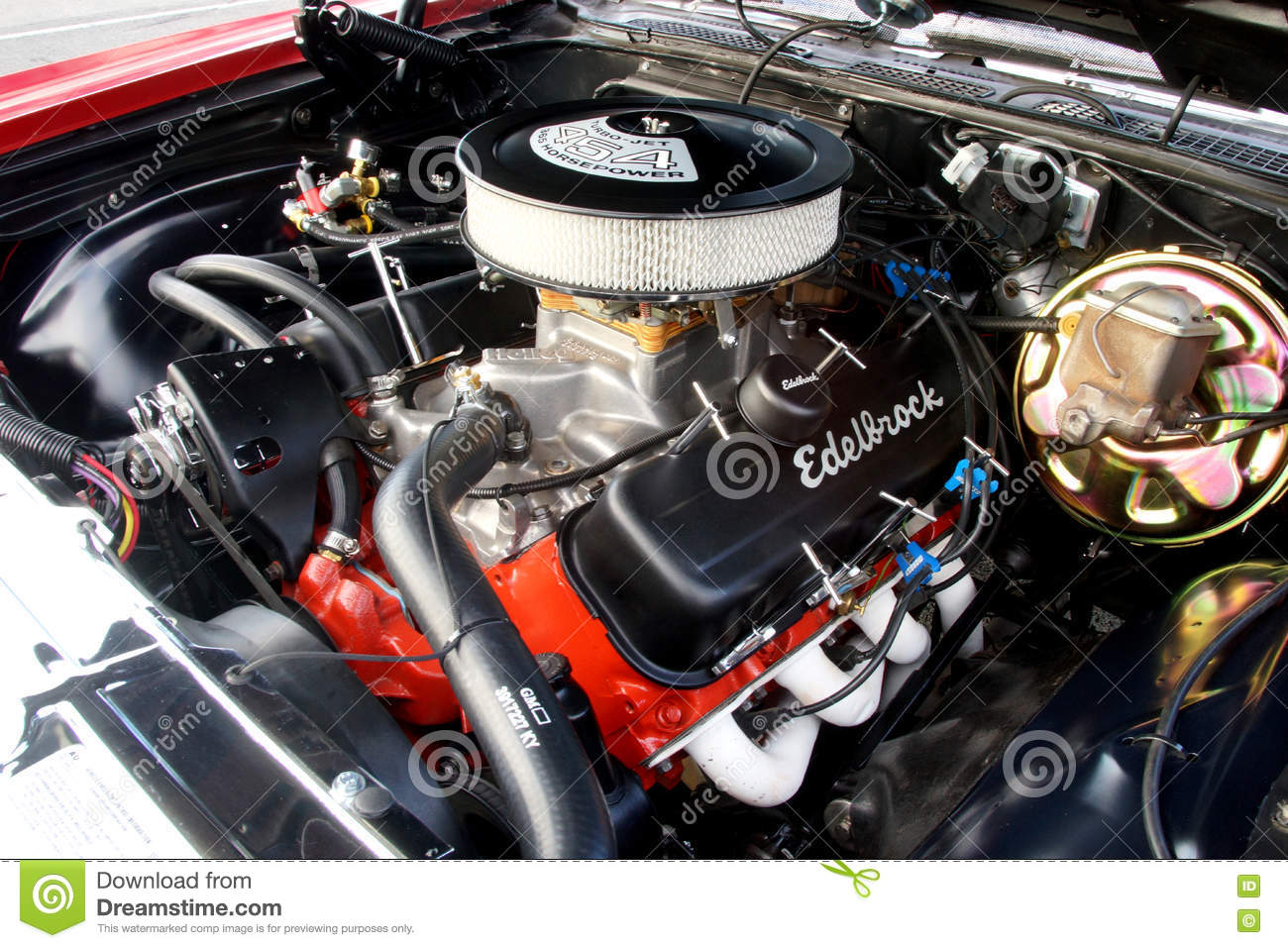 Muscle Car Engine Editorial Stock Image Image Of Automobile 76687954
