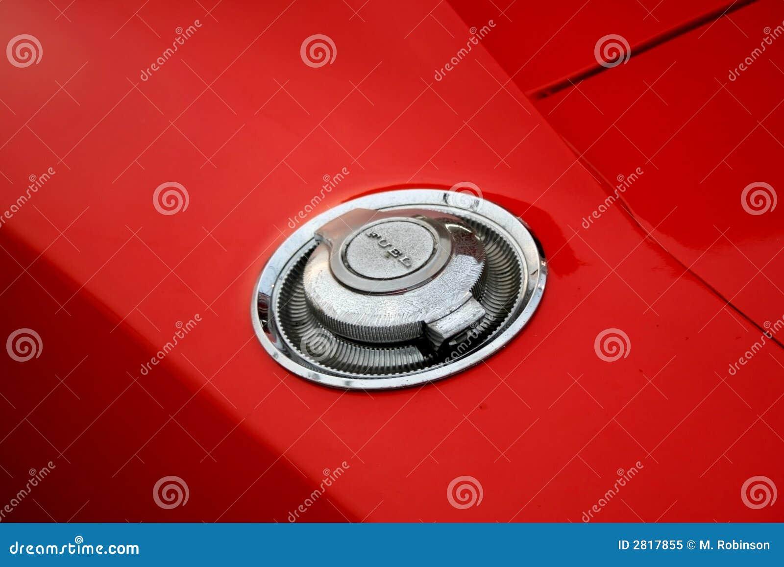 Automotive Gas Cap : Muscle car gas cap stock image of transportation
