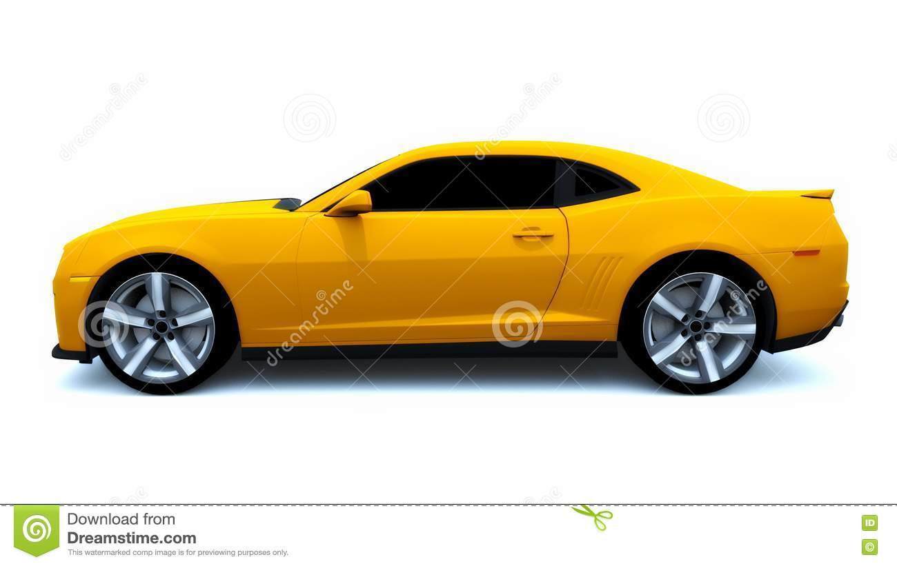 Muscle Car Modified Stock Illustration Illustration Of Modern