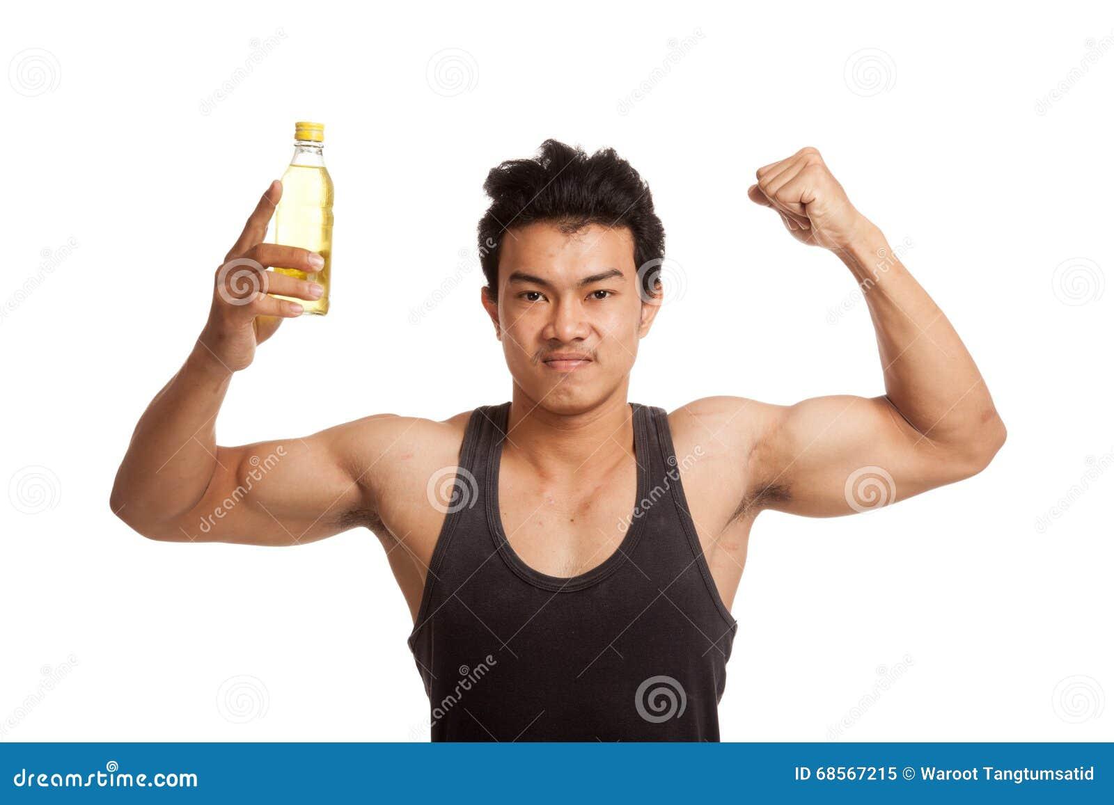 Asian man muscular