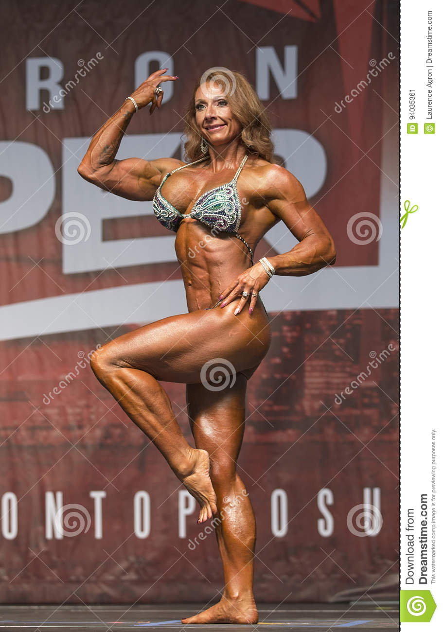 Long haired female body builder opinion you