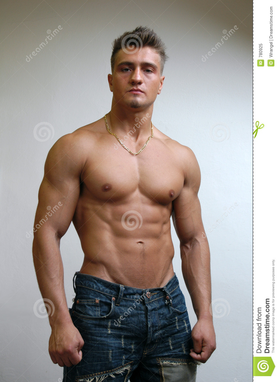 Muscular Male Torso Stock Image Image Of Stare Handsome 780925