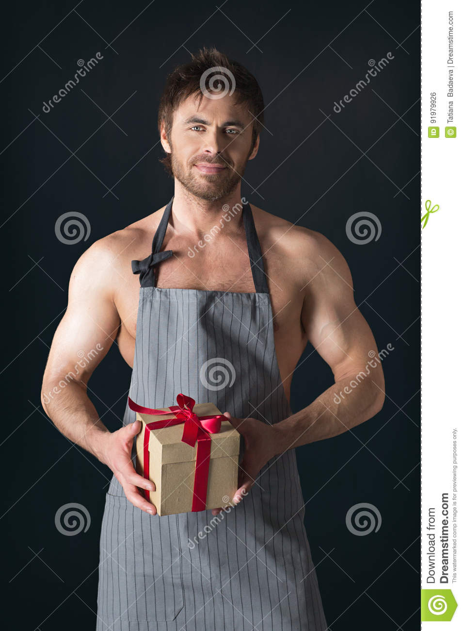 Ugly Naked Guy Aprons