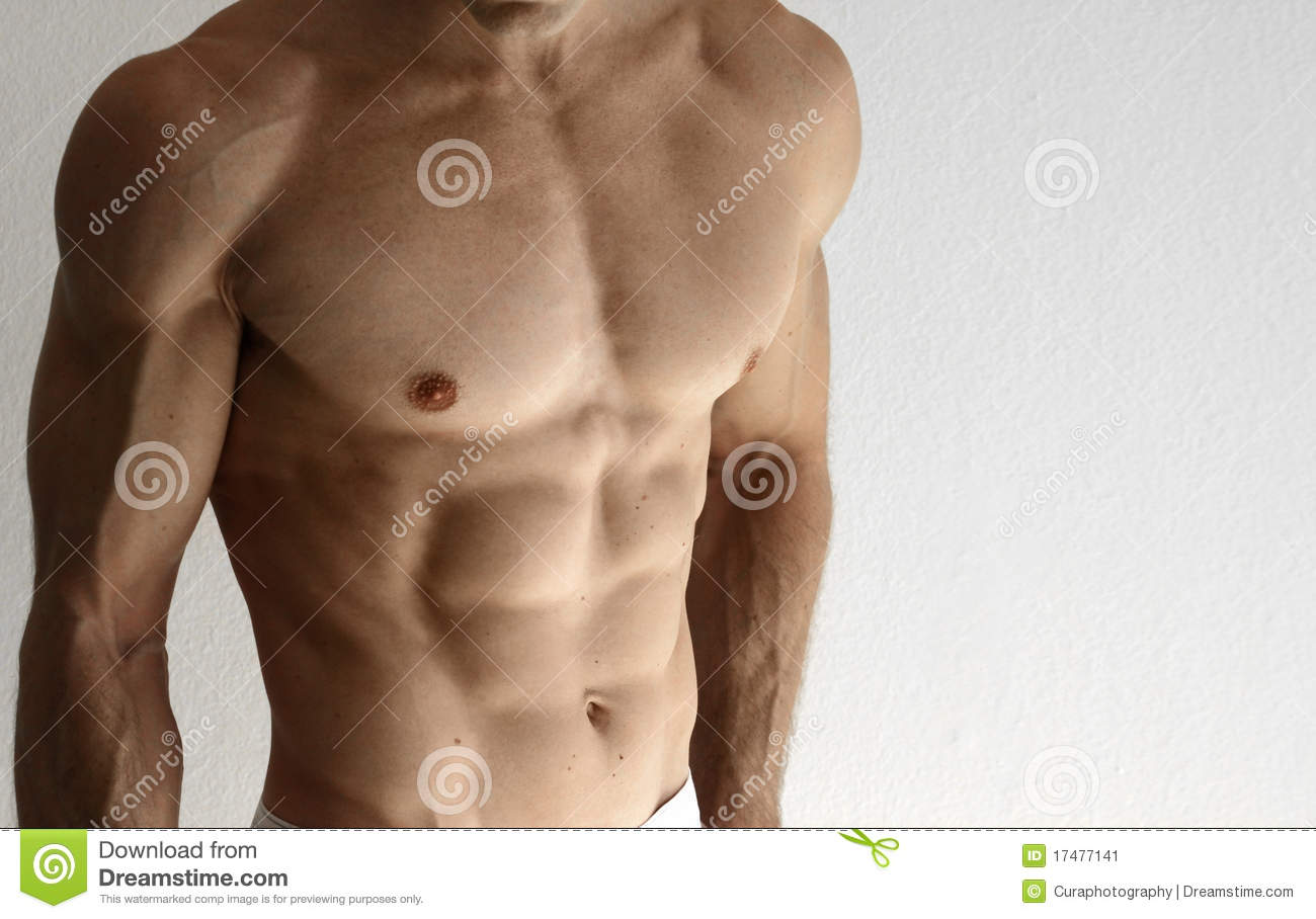 Muscular Torso Stock Image Image Of Macho Male Color 17477141
