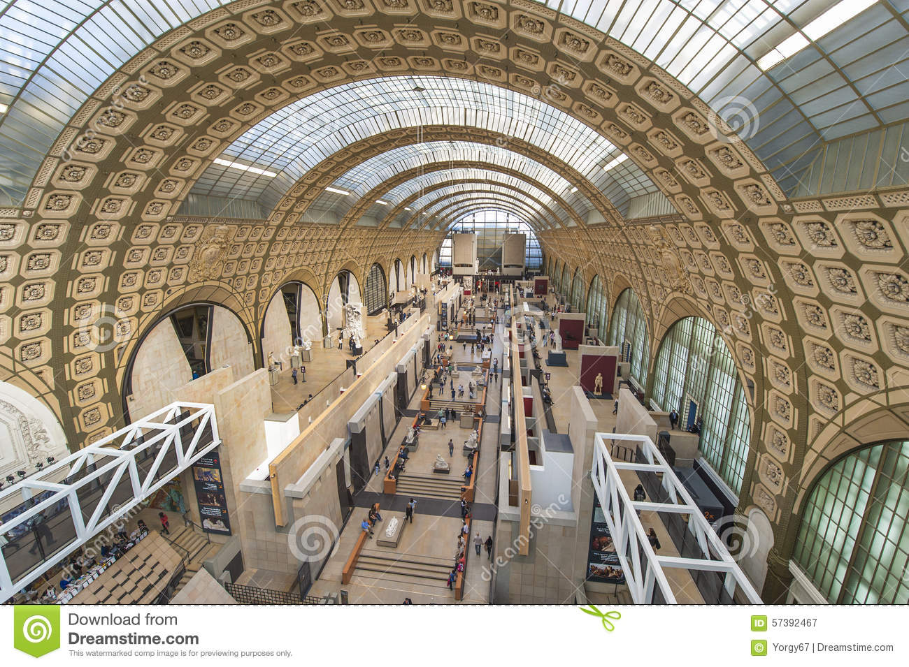 Musee D Orsay Editorial Photography Image Of Gallery 57392467