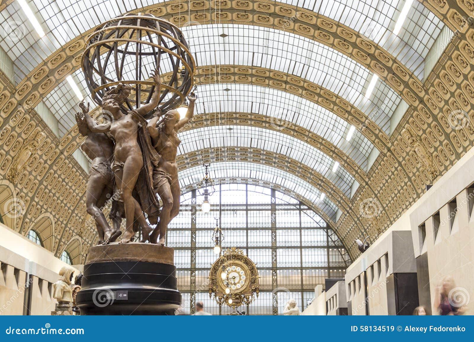 Musee d Orsay in Parijs, Frankrijk